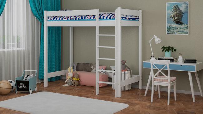 cama elevada para ninos