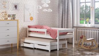 Cama individual con cama supletoria María