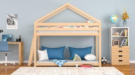 cama casita infantil