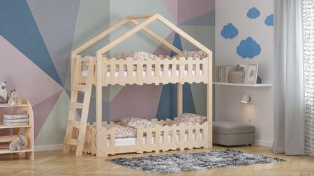 cama de forma de casita