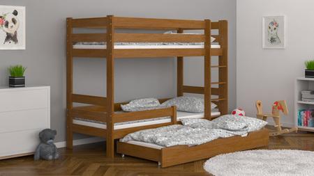 camas de madera maciza,