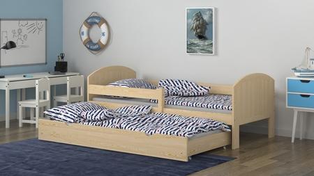 cama con dos camas