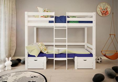 camas altas individuales
