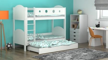 litera con cama adicional