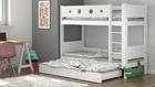 camas de madera maciza