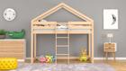 Muebles cama alta madera