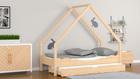 Cama para los más jóvenes, cama-casita