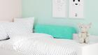 protección de cama,